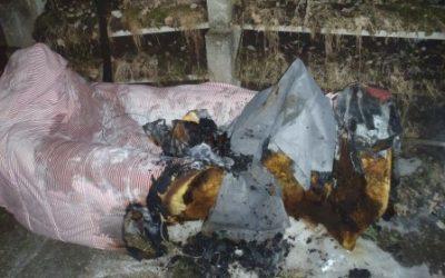 Kontrolle nach Brand Elektroheizung