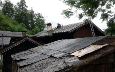 Kaminbrand in Geimen