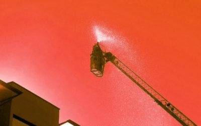 Wohnungsbrand Landstrasse