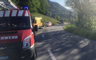 Verkehrsunfall in der Birchegga